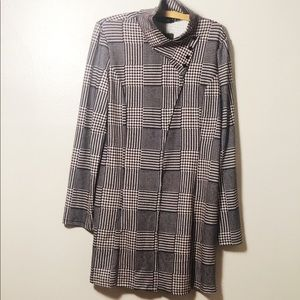 Reborn Collection Faux Tweed Jersey Dress NWT